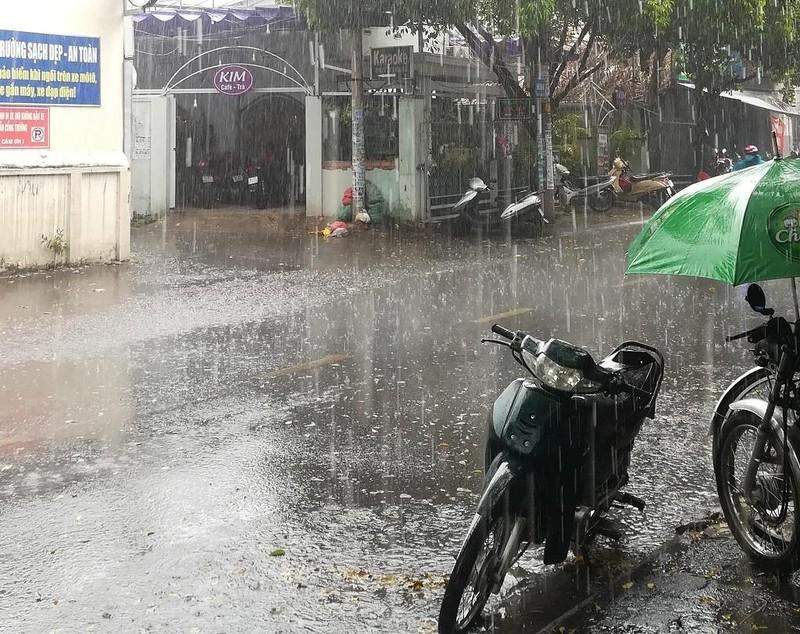 Từ 2-4 TP.HCM và nhiều tỉnh tiếp tục mưa bất chợt sau 13 giờ - ảnh 1