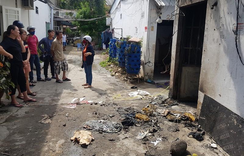 Nguyên nhân vụ phóng hỏa làm 3 người chết ở quận Bình Tân  - ảnh 1