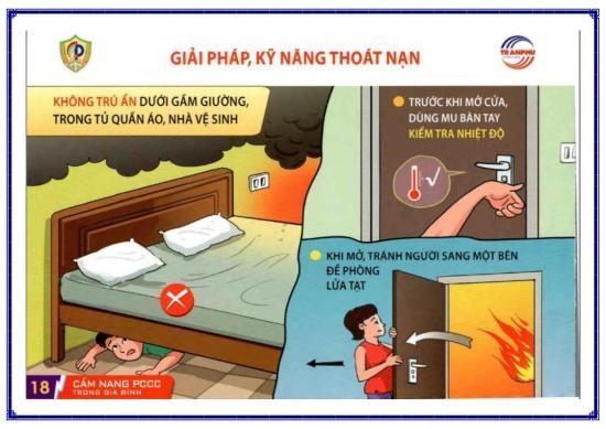 Công an Bình Tân chỉ 6 cách thoát nạn sau hai vụ cháy liền kề - ảnh 2
