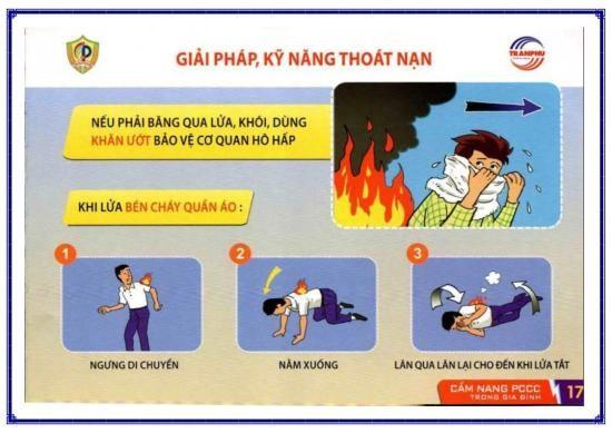 Công an Bình Tân chỉ 6 cách thoát nạn sau hai vụ cháy liền kề - ảnh 3