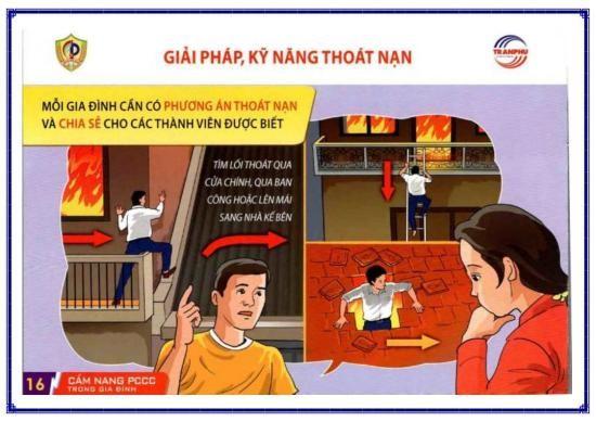 Công an Bình Tân chỉ 6 cách thoát nạn sau hai vụ cháy liền kề - ảnh 4