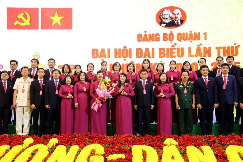 Bà Trần Kim Yến tái đắc cử Bí thư Quận ủy quận 1, TP.HCM - ảnh 2