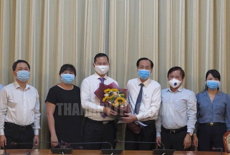 Chủ tịch UBND huyện Bình Chánh nhận nhiệm vụ mới - ảnh 1