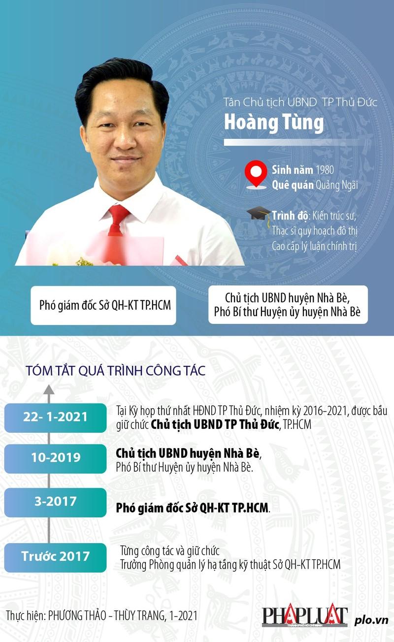 TP.HCM: Ông Hoàng Tùng làm Chủ tịch UBND TP Thủ Đức - ảnh 2