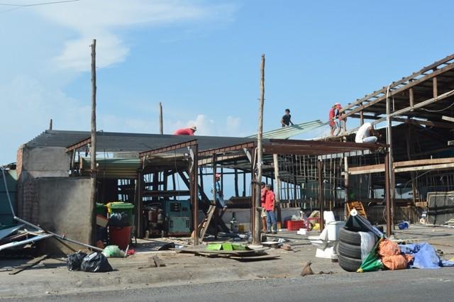 Vũng Tàu: Bốn nhà hàng lấn biển tự nguyện tháo dỡ - ảnh 1