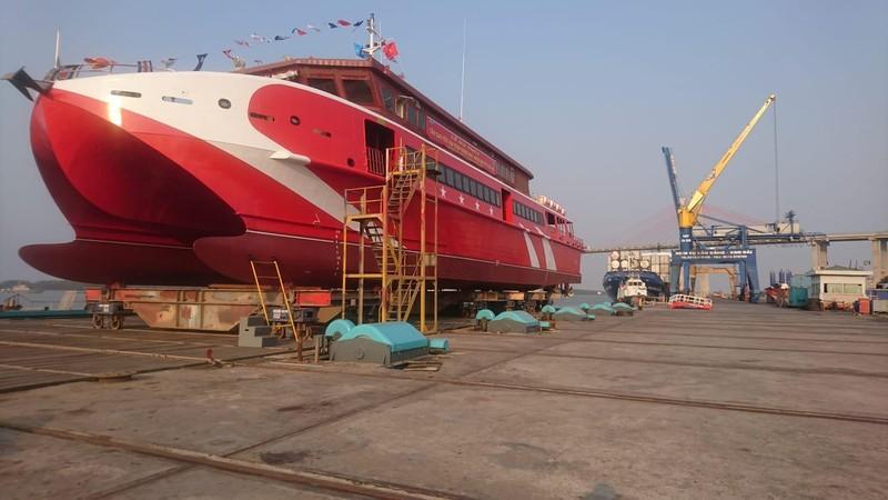 BR-VT cho vay 47,4 tỉ đóng tàu cao tốc Vũng Tàu- Côn Đảo - ảnh 1