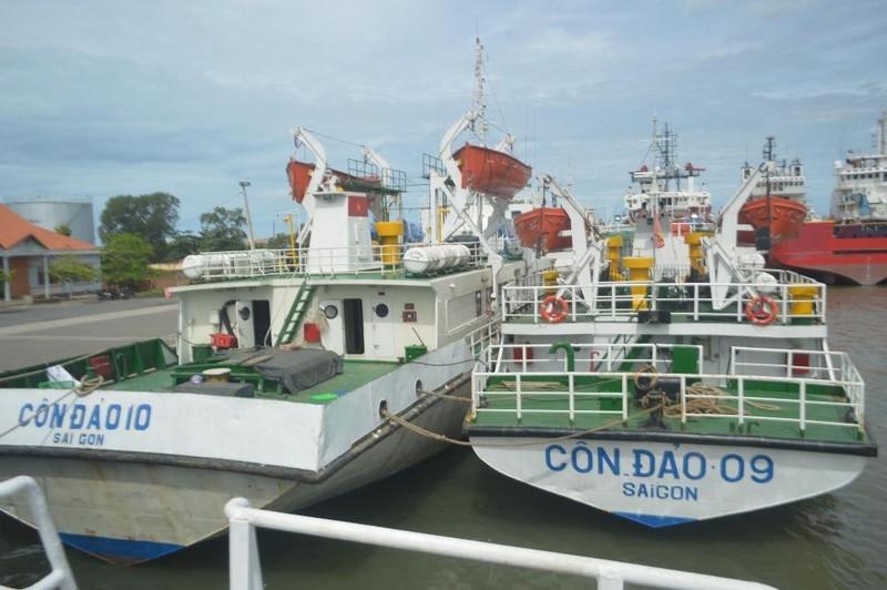 Tàu Côn Đảo 09 bán thanh lý dù mới sửa chữa hơn 2,4 tỉ - ảnh 1