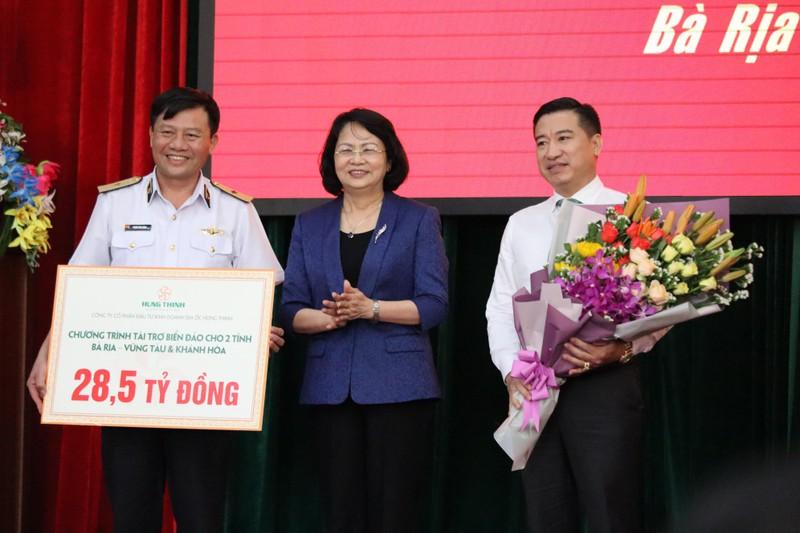 Phó Chủ tịch nước Đặng Thị Ngọc Thịnh thăm Vùng 2 Hải quân - ảnh 2