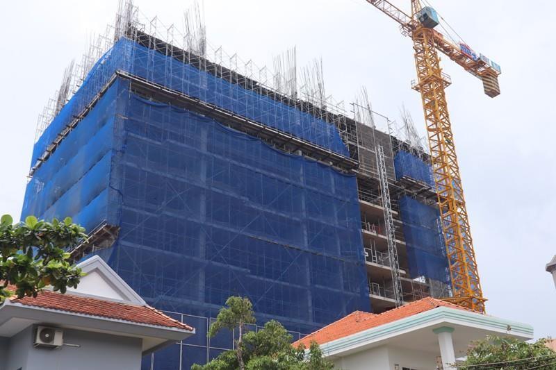 Xử phạt DIC Corp gần 1 tỉ vì xây không giấy phép, vượt 6 tầng - ảnh 1
