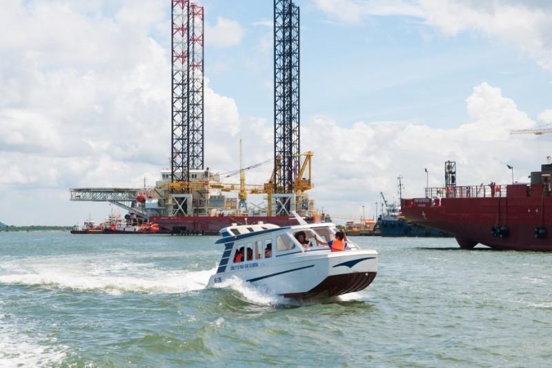 Hoạt động bến tàu không phép, Công ty Việt Séc bị xử phạt - ảnh 1