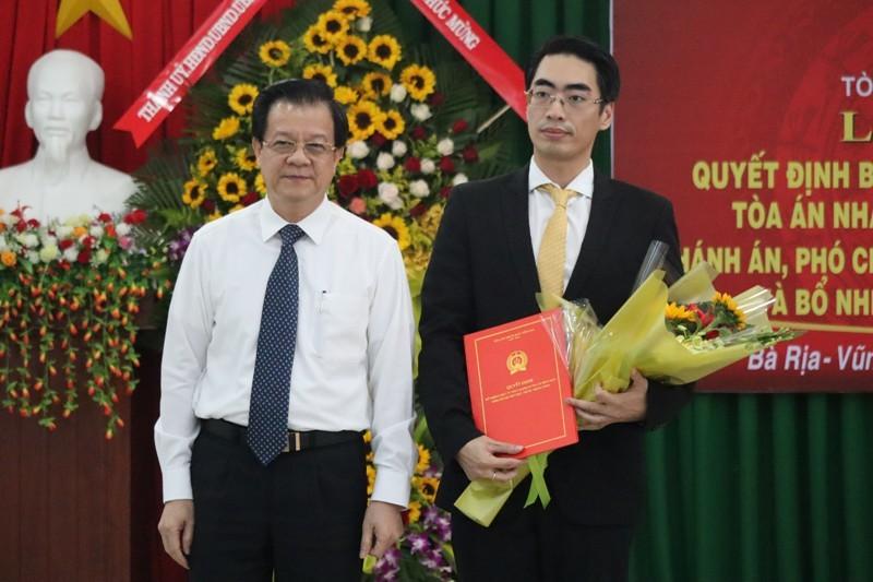 TAND tỉnh Bà Rịa-Vũng Tàu có phó chánh án 36 tuổi - ảnh 2