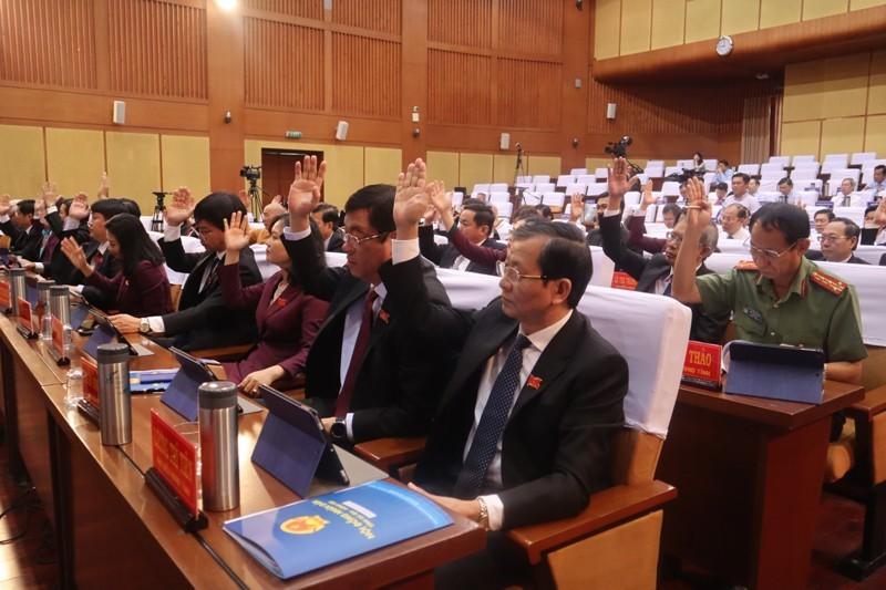 HĐND tỉnh Bà Rịa-Vũng Tàu thông qua 4 nghị quyết về nhân sự - ảnh 2