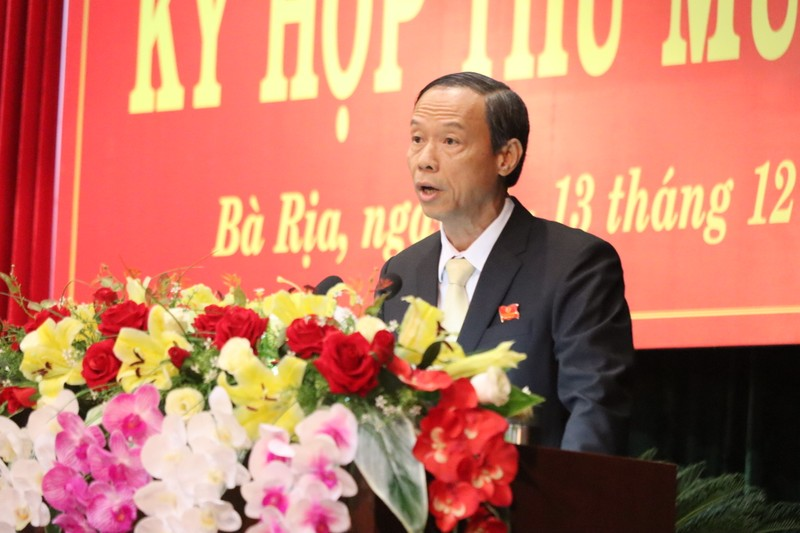 Bà Rịa-Vũng Tàu có tân chủ tịch UBND tỉnh  - ảnh 1