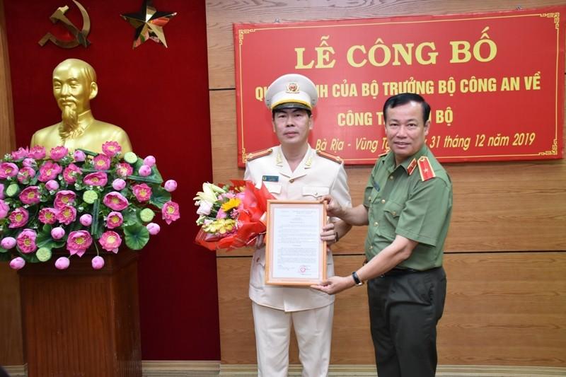 Bà Rịa-Vũng Tàu có tân phó giám đốc công an - ảnh 1