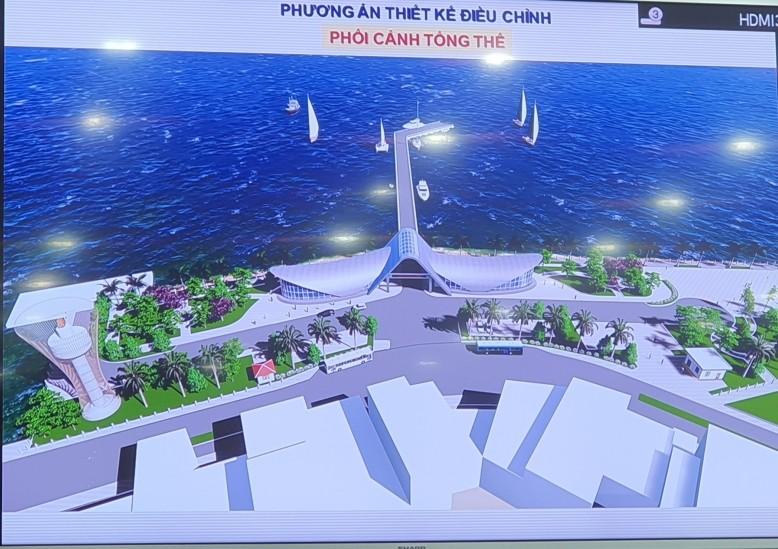 Cảng tàu khách Côn Đảo xây dựng lại sau 6 năm 'đứng bánh' - ảnh 1
