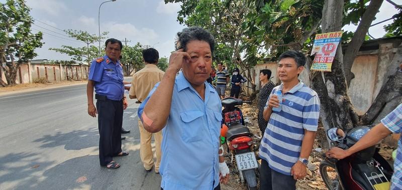 Thực nghiệm vụ lái xe tông bị thương 2 công an ở Vũng Tàu - ảnh 1