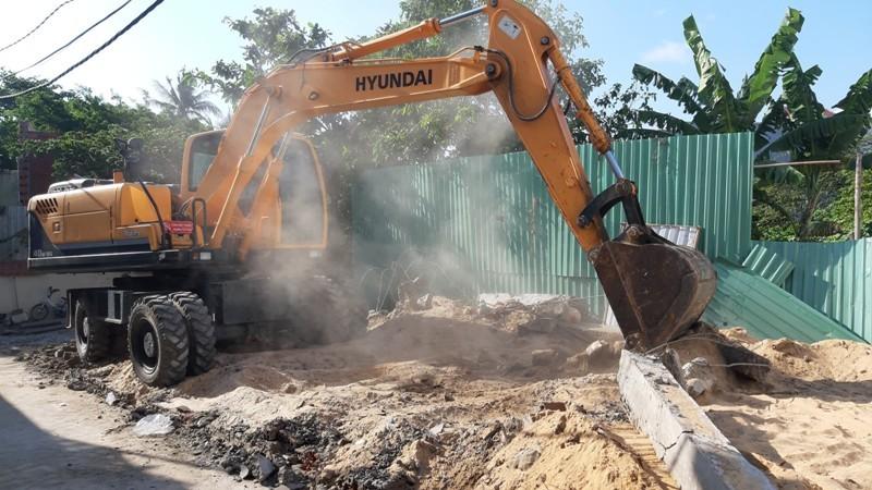 Vũng Tàu: Ngăn chặn hai căn nhà xây trái phép - ảnh 1