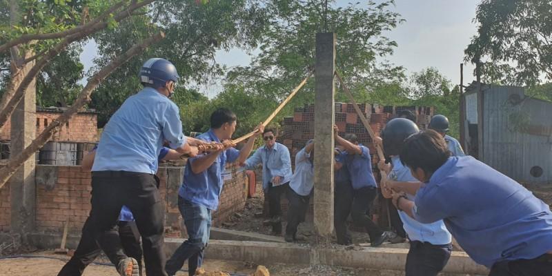 Xử lý công trình xây trái phép gần mặt tiền đường ở Vũng Tàu - ảnh 1