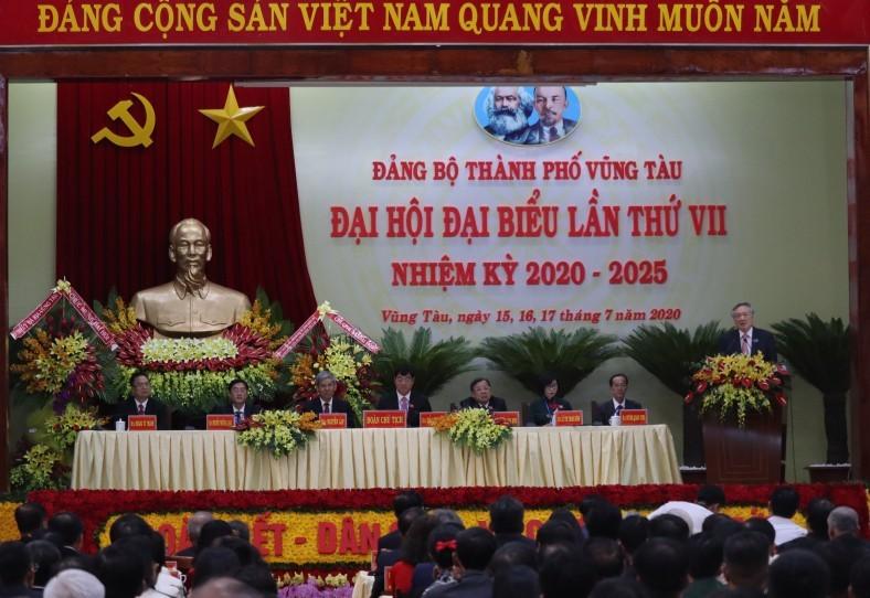 Chánh án Nguyễn Hòa Bình dự Đại hội Đảng bộ TP Vũng Tàu - ảnh 2
