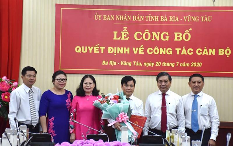 Bà Rịa-Vũng Tàu có tân Chánh văn phòng UBND tỉnh - ảnh 1