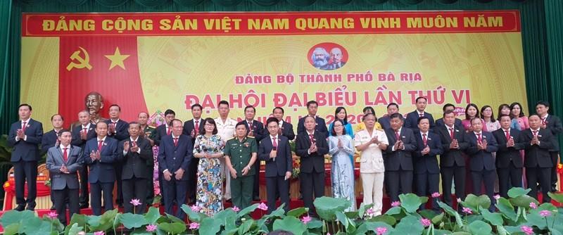 Ông Đặng Minh Thông tái đắc cử Bí thư Thành ủy Bà Rịa - ảnh 1