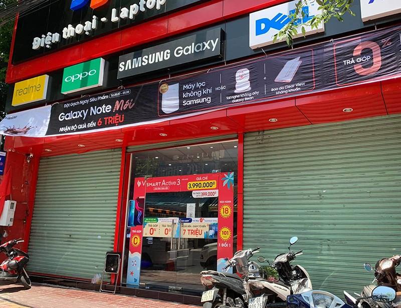 Trộm đột nhập tiệm điện thoại ở Vũng Tàu, lấy nhiều Iphone - ảnh 1