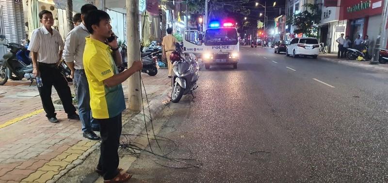 Vũng Tàu: Một thanh niên tử vong sau va chạm xe trộn bê tông - ảnh 1
