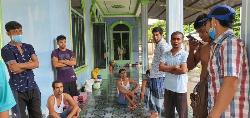 Hỗ trợ nhóm lao động người Bangladesh đang ở thị xã Phú Mỹ - ảnh 1