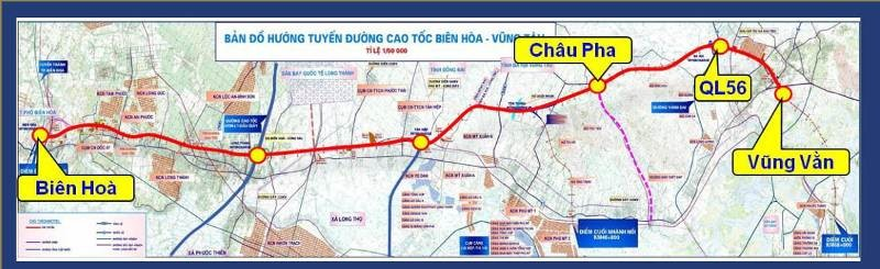 Đề xuất xây dựng cao tốc Biên Hòa- Vũng Tàu từ 2021-2025 - ảnh 1