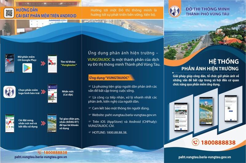 Vũng Tàu: Tạo App điện thoại để nhận, gửi thông tin cho dân - ảnh 2