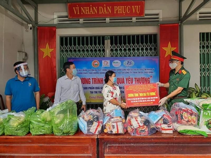 Bà Rịa - Vũng Tàu tiếp nhận hàng, nhân lực hỗ trợ phòng chống dịch từ các tỉnh - ảnh 2