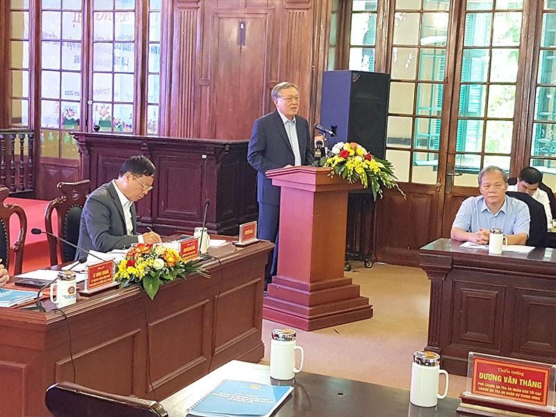 Góp ý về tư pháp trong dự thảo văn kiện Đại hội XIII - ảnh 1