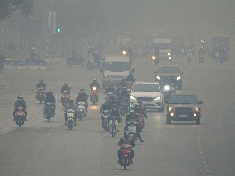 Hà Nội nhiều ngày chất lượng không khí ở mức xấu - ảnh 1