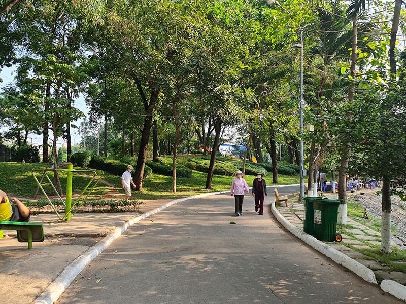 TP.HCM tăng thêm công viên, mảng xanh công cộng - ảnh 1
