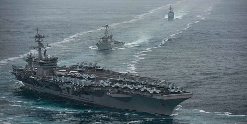Cùng điều tàu sân bay đến khu vực, Mỹ, Trung Quốc muốn gì? - ảnh 1