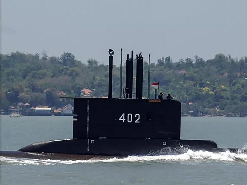 Vụ tàu ngầm Indonesia mất tích: Phát hiện vệt dầu loang - ảnh 1