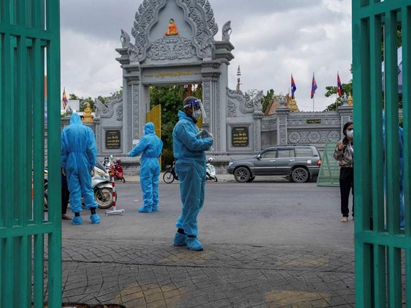 Campuchia trước nguy cơ bùng phát cùng lúc 2 biến thể COVID-19 - ảnh 1