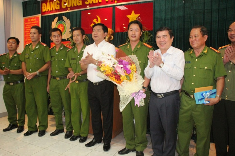 Kỳ vọng của Bí thư Đinh La Thăng đối với công an TP.HCM - ảnh 1
