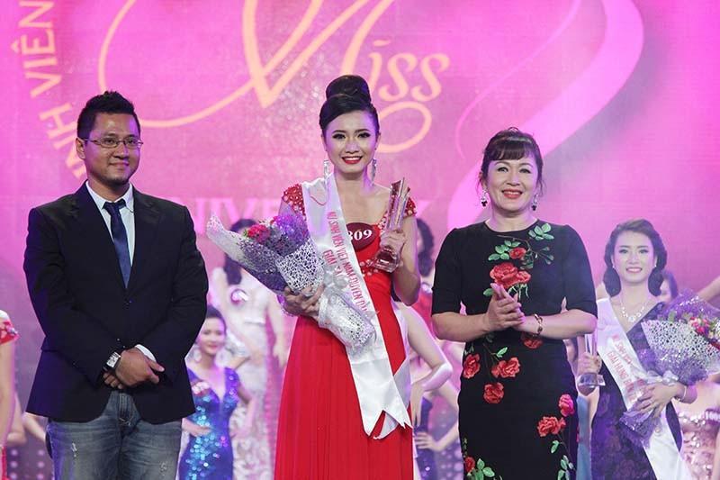 Đặng Mỹ Huyền đăng quang Hoa khôi Nữ sinh viên Việt Nam  - ảnh 7