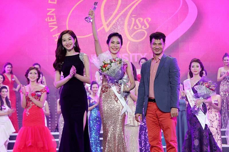 Đặng Mỹ Huyền đăng quang Hoa khôi Nữ sinh viên Việt Nam  - ảnh 8