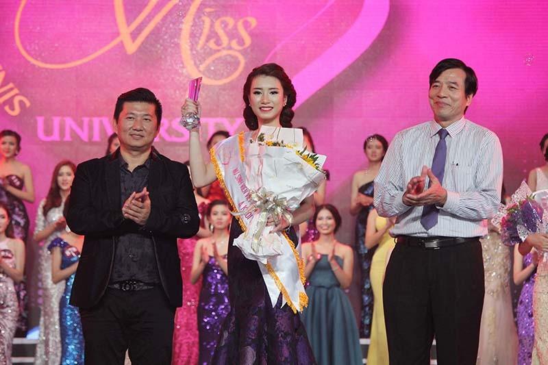 Đặng Mỹ Huyền đăng quang Hoa khôi Nữ sinh viên Việt Nam  - ảnh 5