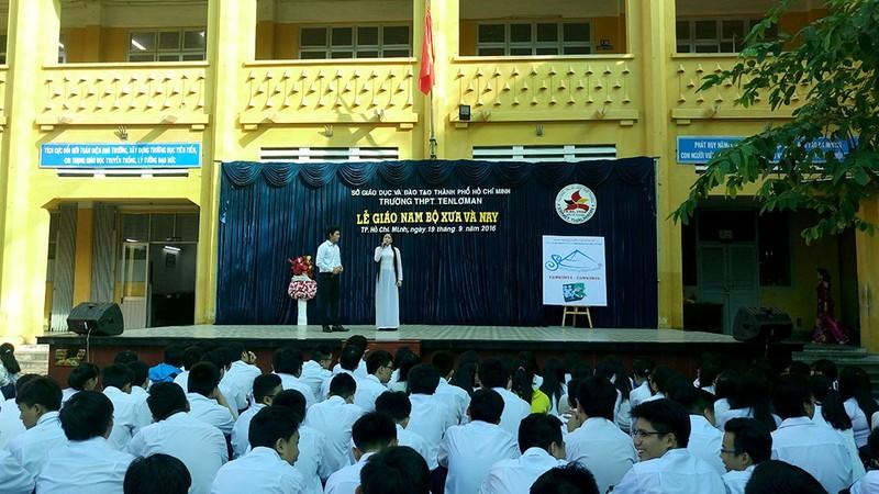 Lần đầu tiên đưa văn hóa Nam Bộ vào học đường - ảnh 5