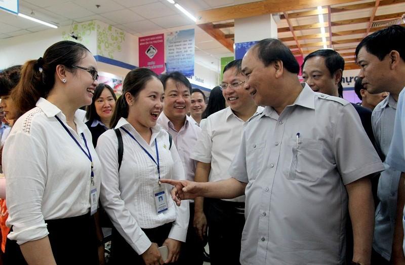 Thủ tướng bất ngờ vi hành ở TP.HCM - ảnh 10