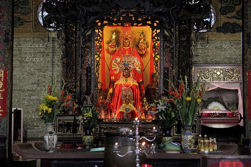 Chùa cổ gần 300 năm tuổi của người Hoa ở chợ Lớn - ảnh 15