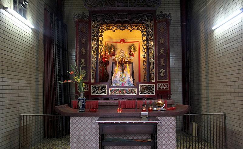 Chùa cổ gần 300 năm tuổi của người Hoa ở chợ Lớn - ảnh 18