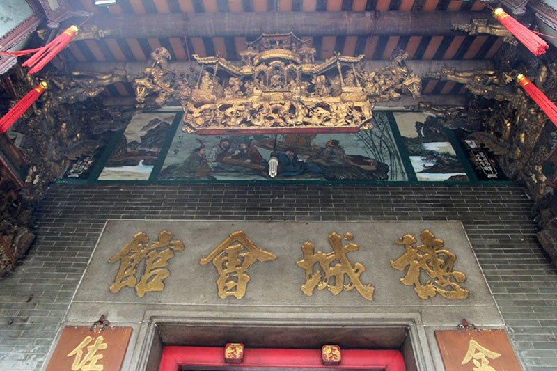 Chùa cổ gần 300 năm tuổi của người Hoa ở chợ Lớn - ảnh 3