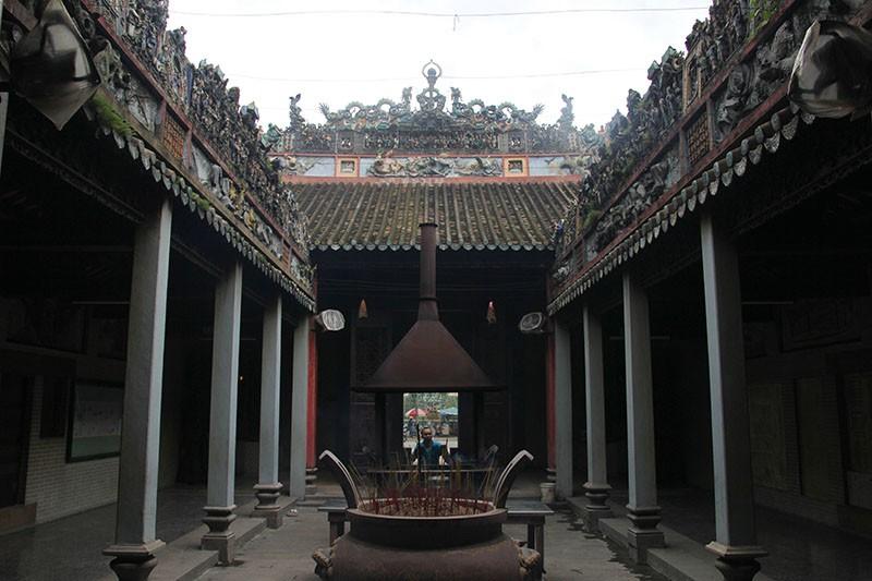 Chùa cổ gần 300 năm tuổi của người Hoa ở chợ Lớn - ảnh 9