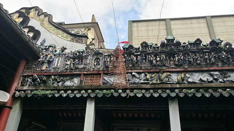 Chùa cổ gần 300 năm tuổi của người Hoa ở chợ Lớn - ảnh 10