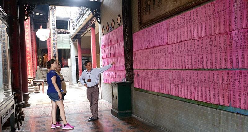 Chùa cổ gần 300 năm tuổi của người Hoa ở chợ Lớn - ảnh 20
