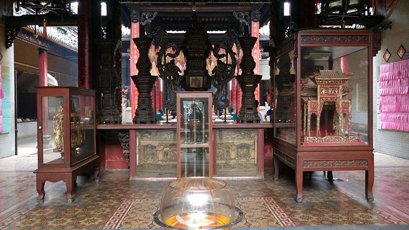 Chùa cổ gần 300 năm tuổi của người Hoa ở chợ Lớn - ảnh 11